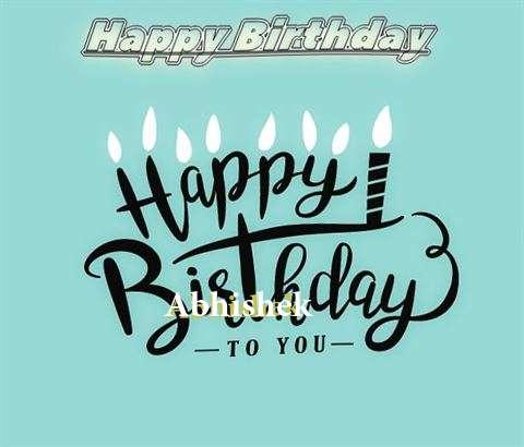 Happy Birthday Abhishek