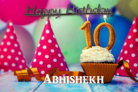 Birthday Images for Abhishekh