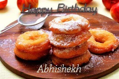 Happy Birthday Wishes for Abhishekh