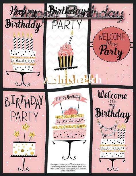 Happy Birthday to You Abhishekh