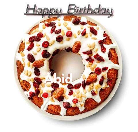 Happy Birthday Abid