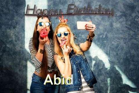 Happy Birthday to You Abid