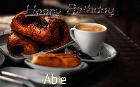 Happy Birthday Abie Cake Image