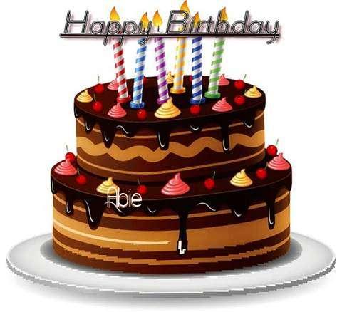 Happy Birthday to You Abie
