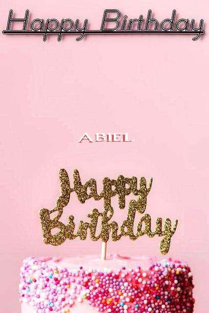 Happy Birthday Abiel
