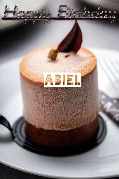 Happy Birthday Cake for Abiel