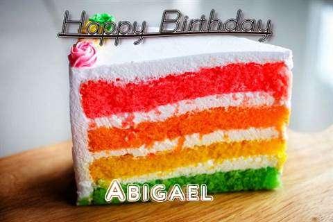 Happy Birthday Abigael