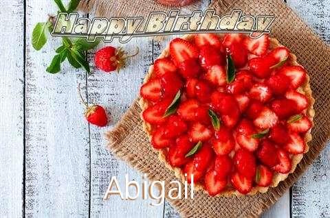 Happy Birthday to You Abigail