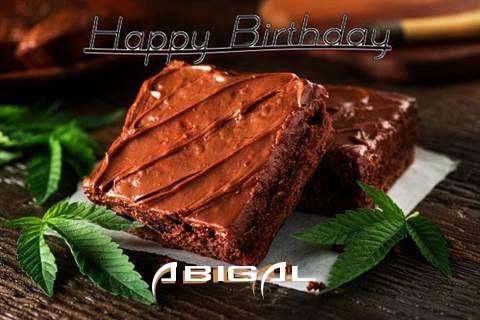 Happy Birthday Abigal