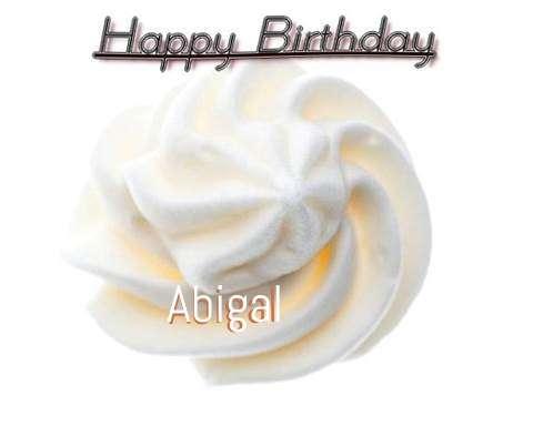 Happy Birthday Cake for Abigal