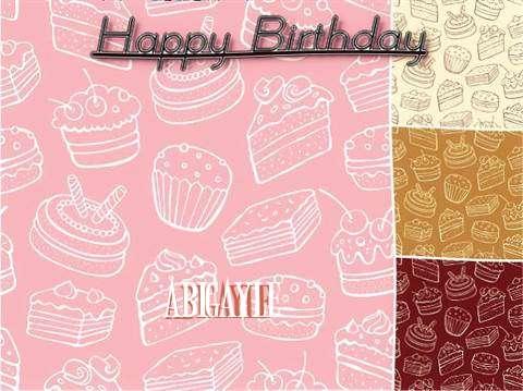 Happy Birthday to You Abigayle