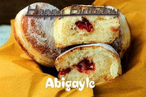Happy Birthday Cake for Abigayle