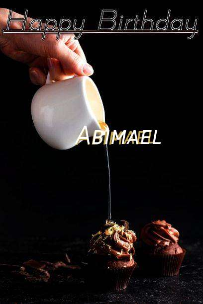 Happy Birthday Abimael Cake Image