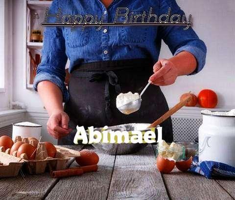 Happy Birthday to You Abimael
