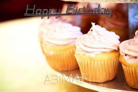 Happy Birthday Cake for Abimael