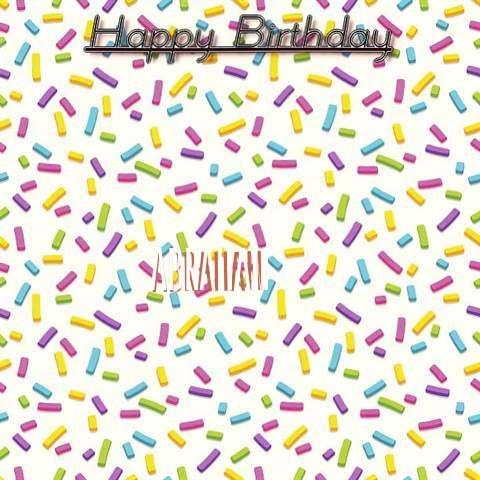 Happy Birthday Wishes for Abraham
