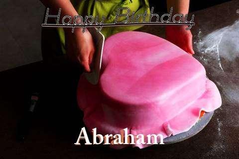 Happy Birthday Cake for Abraham