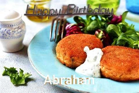 Happy Birthday Abrahan