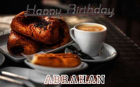 Happy Birthday Abrahan Cake Image