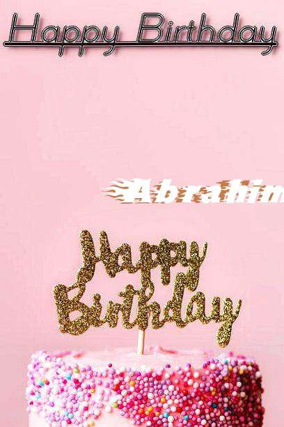Happy Birthday Abrahim