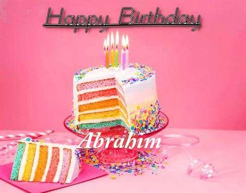 Abrahim Birthday Celebration