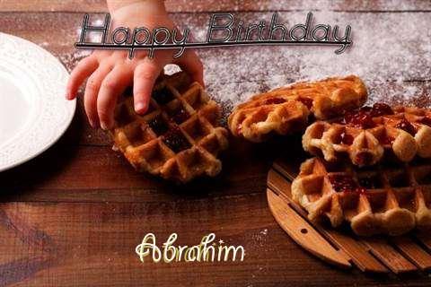 Happy Birthday Wishes for Abrahim