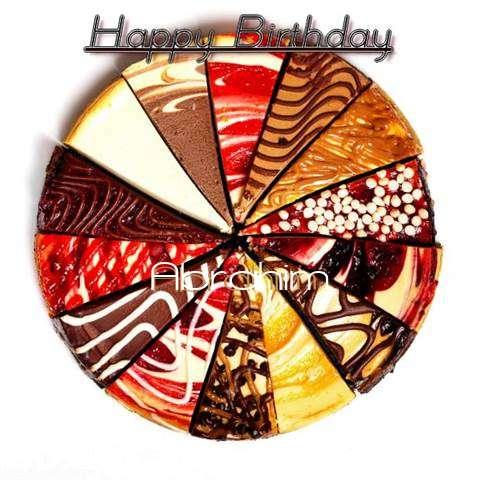Happy Birthday to You Abrahim