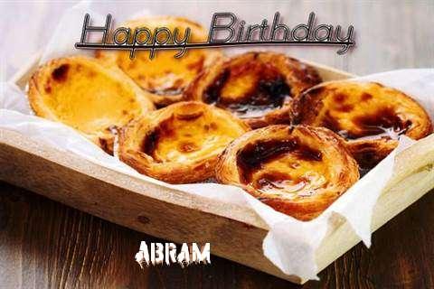 Happy Birthday Wishes for Abram