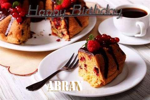 Happy Birthday to You Abran