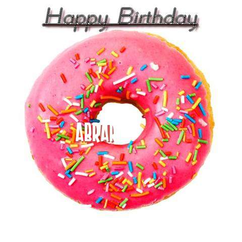 Happy Birthday Wishes for Abrar