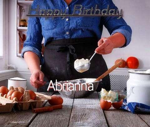 Happy Birthday to You Abrianna