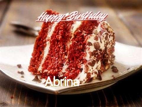 Happy Birthday to You Abrina