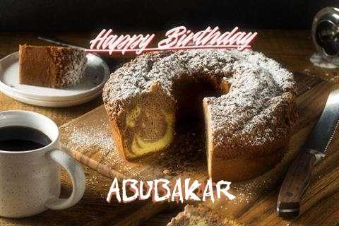 Happy Birthday to You Abubakar
