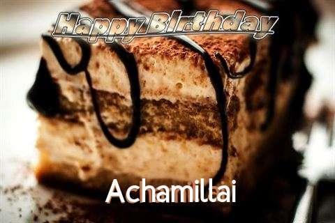 Achamillai Birthday Celebration