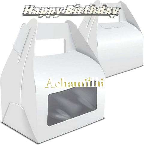 Happy Birthday Wishes for Achamillai