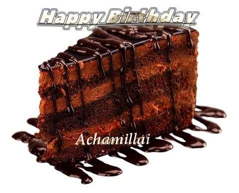Happy Birthday to You Achamillai