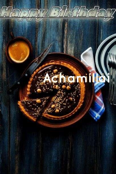 Happy Birthday Cake for Achamillai