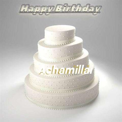 Achamillai Cakes