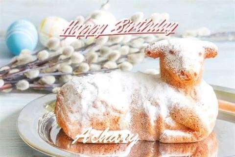 Happy Birthday to You Achary