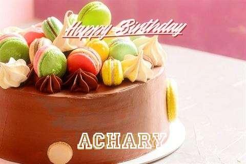 Happy Birthday Cake for Achary