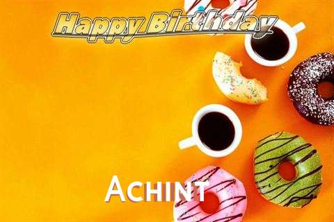 Happy Birthday Achint