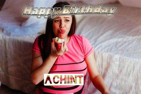 Happy Birthday to You Achint