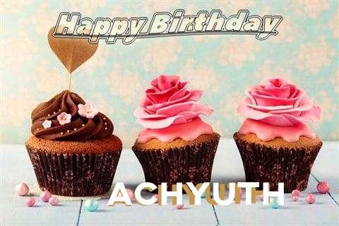 Happy Birthday Achyuth Cake Image