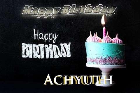 Happy Birthday Cake for Achyuth