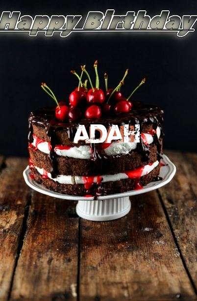 Happy Birthday Adah