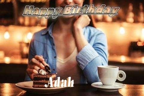 Happy Birthday Cake for Adah