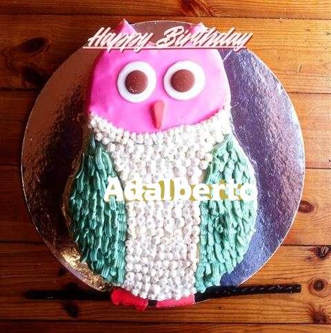 Happy Birthday Cake for Adalberto