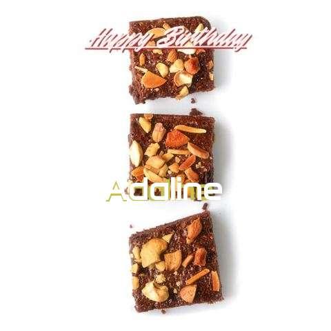 Happy Birthday Cake for Adaline