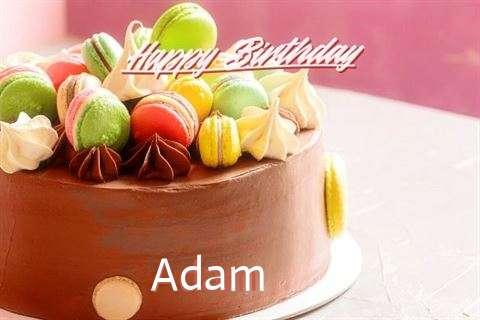 Happy Birthday Cake for Adam
