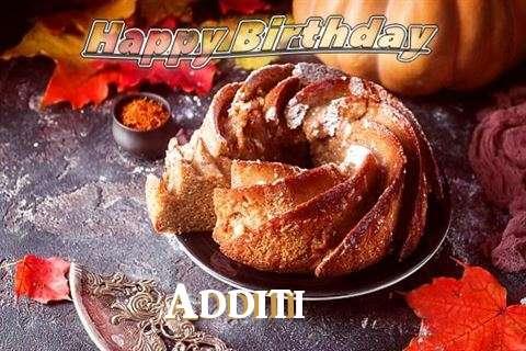 Happy Birthday Additi